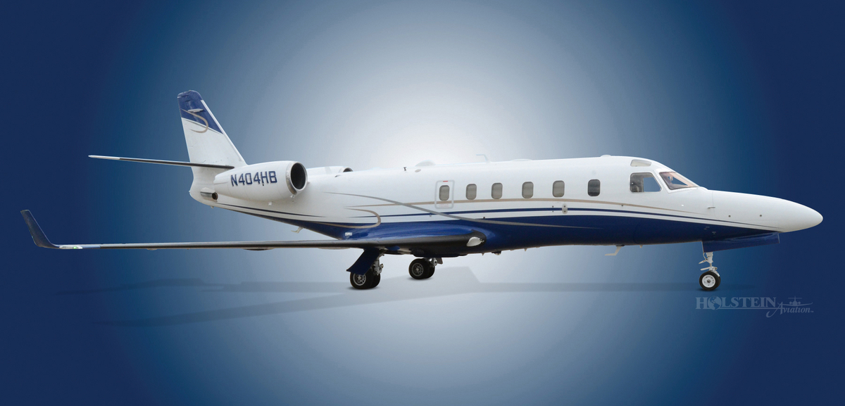 2001 Gulfstream G100. SN 140,  N404HB - Ext RS View RGB.jpg