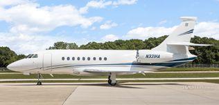 2007 Falcon 2000EX EASy II - SN 117 - N331HA - Ext - LS View WEB.jpg