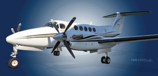 2004 Beech King Air B200, BB-1846,  N10QW - Ext LS View WEB.jpg