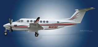 2002 King Air 350, FL-355, N685BC -  Ext LS View WEB.jpg