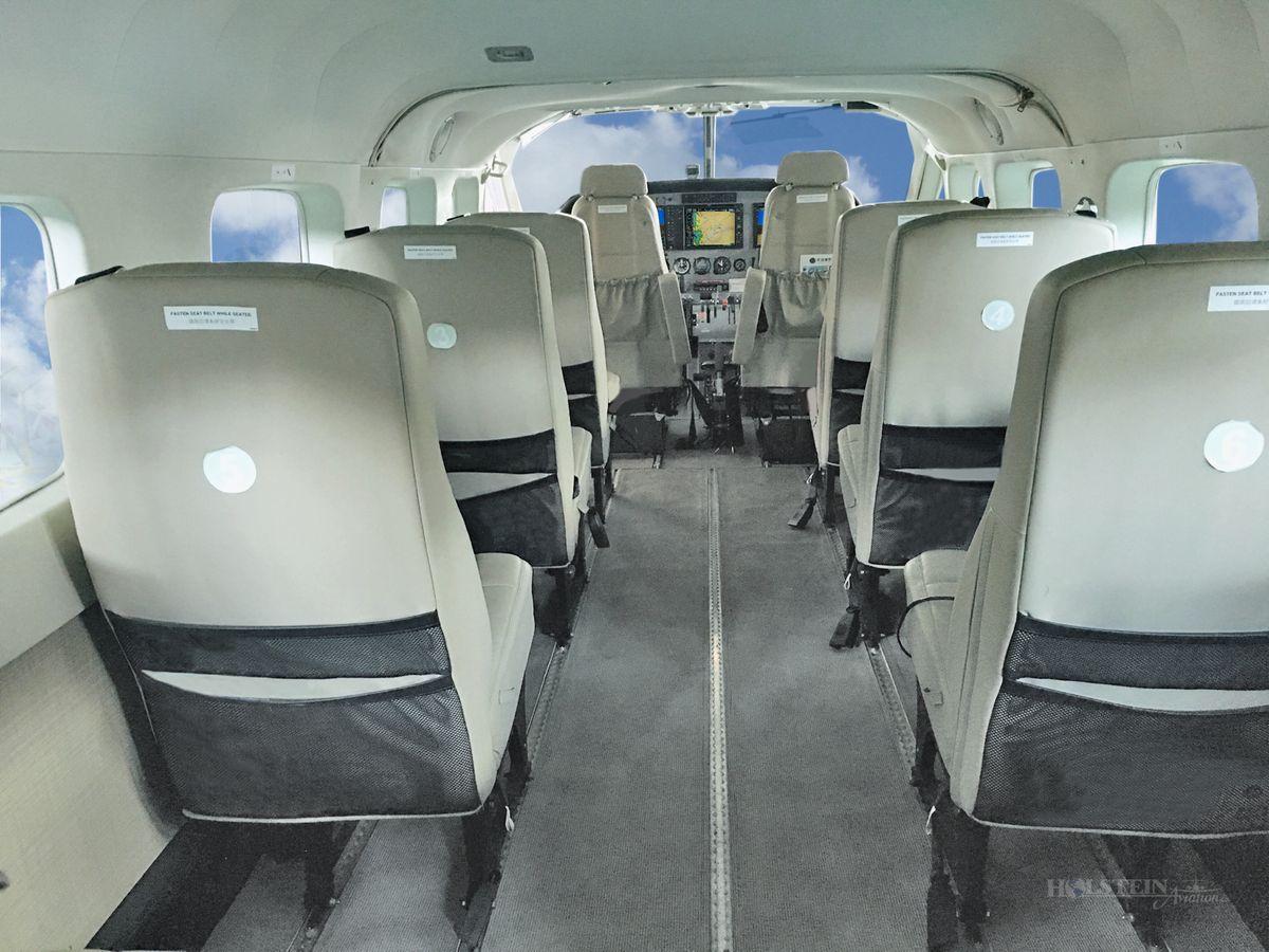 2016 Cessna Caravan 208B EX, SN 208B5256, B-10FG - Int Aft Fac Fwd RGB.jpg