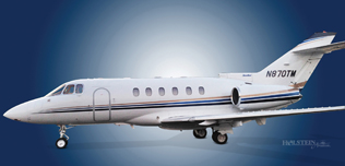 2001 Hawker 800XP, 258517, N870TM,  Ext Left MidShip - WEB.jpg