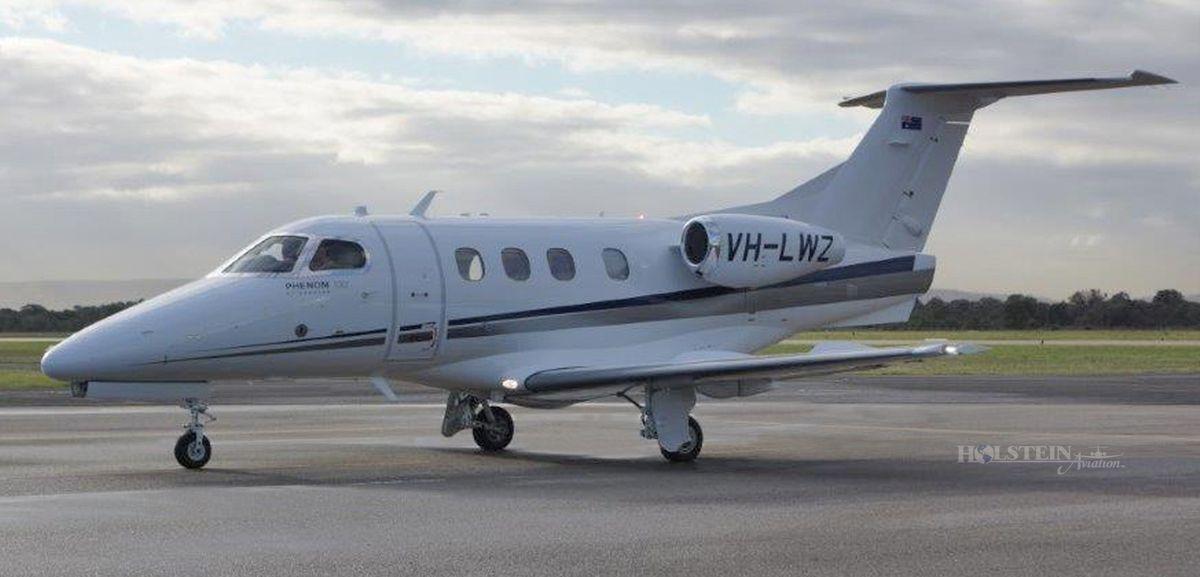 2013 Embraer Phenom 100 - SN 50000306 - VH-LWZ - Ext - LS View RGB.jpg