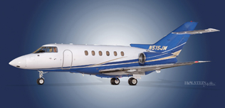 2004 Hawker 800XP - 258695 - N515JM  - Ext - LS View WEB.jpg