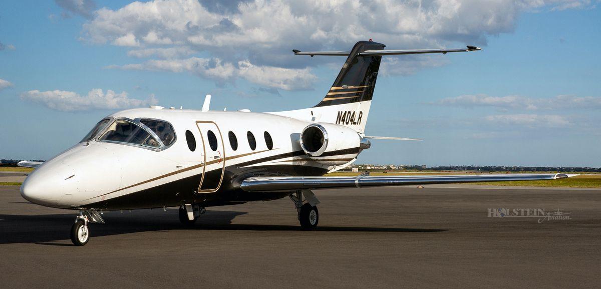 2002 Beechjet 400A - RK-339 - N404LR - Ext - LS Front View RGB 1.jpg