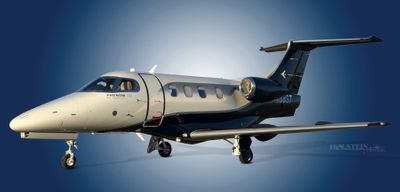 2011 Embraer Phenom 100 - 50000237 - N468ST - Ext - LS Front View RGB.jpg