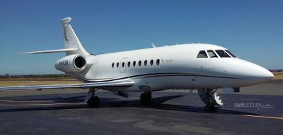 1996 Falcon 2000 - SN 27 - VH-FJO - Ext - RS Front View RGB.jpg