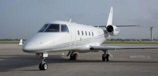 2007 Gulfstream G150, SN 224, N224GG - Ext LS Front View WEB.jpg