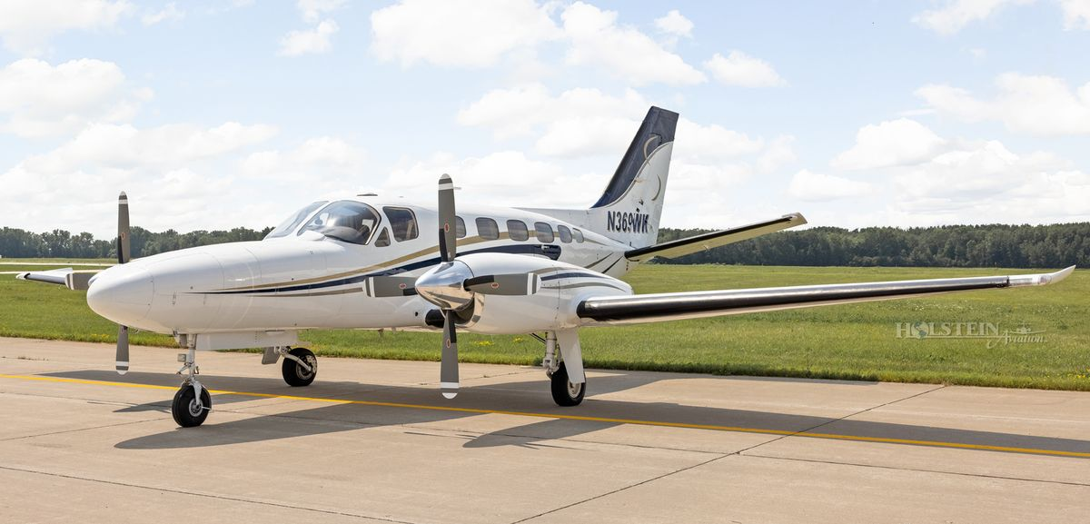 1978 Cessna Conquest II - 441-0012 - N369WK - Ext - LS Front View RGB.jpg