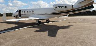 2007 Gulfstream G150 - SN 230 - N722SW - Ext - LS Rear View WEB.jpg