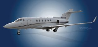 2006 Hawker 850XP - 258798 - N850TM - Ext - LS Front View WEB.jpg