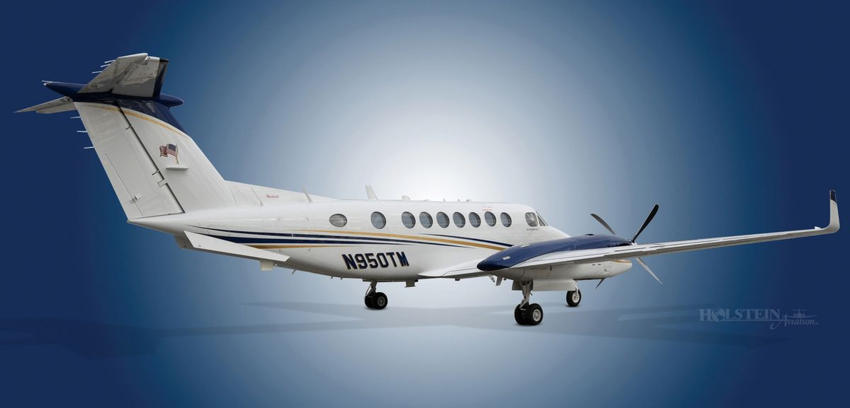 1999 King Air 350 - FL-233 - N950TM - Ext - RS Rear View RGB.jpg