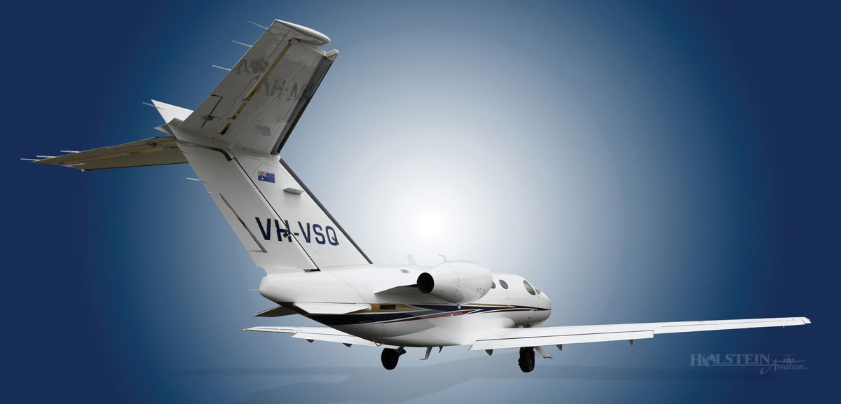 2010 Citation Mustang, 510-0358, VH-VSQ - Ext RS Rear View RGB.jpg