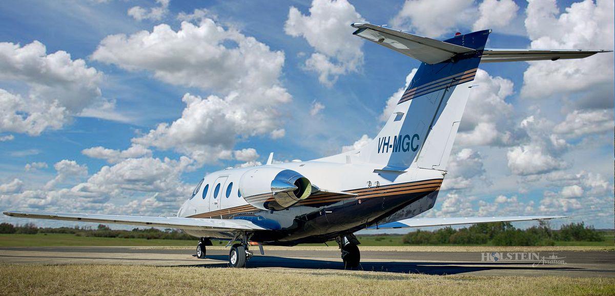1995 Beechjet 400A - RK-97 - VH-MGC - Ext - LS Rear View RGB.jpg