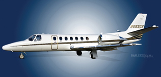 2001 Citation Encore, 560-0583,  N583CE - Ext LS View WEB.jpg