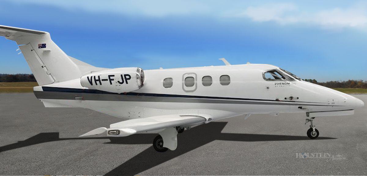 2011 Embraer Phenom 100 - SN 50000237 - VH-FJP - Ext - RS View RGB.jpg