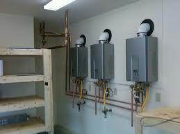 Comercial tank-less hot water heater installation for resteraunt.jpg