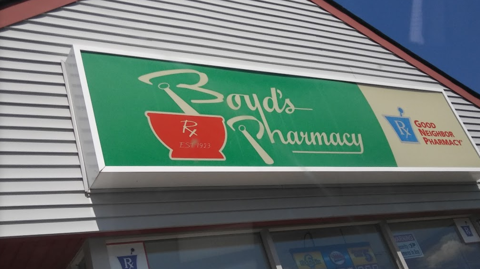 Welcome to Boyd's Pharmacy of Pemberton