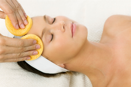 Age Defying Sponge Facial in Austin, Texas