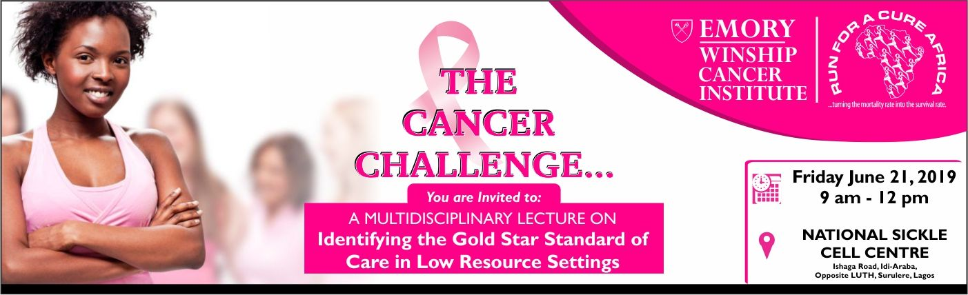 cancer conference lecture  lagos nigeria