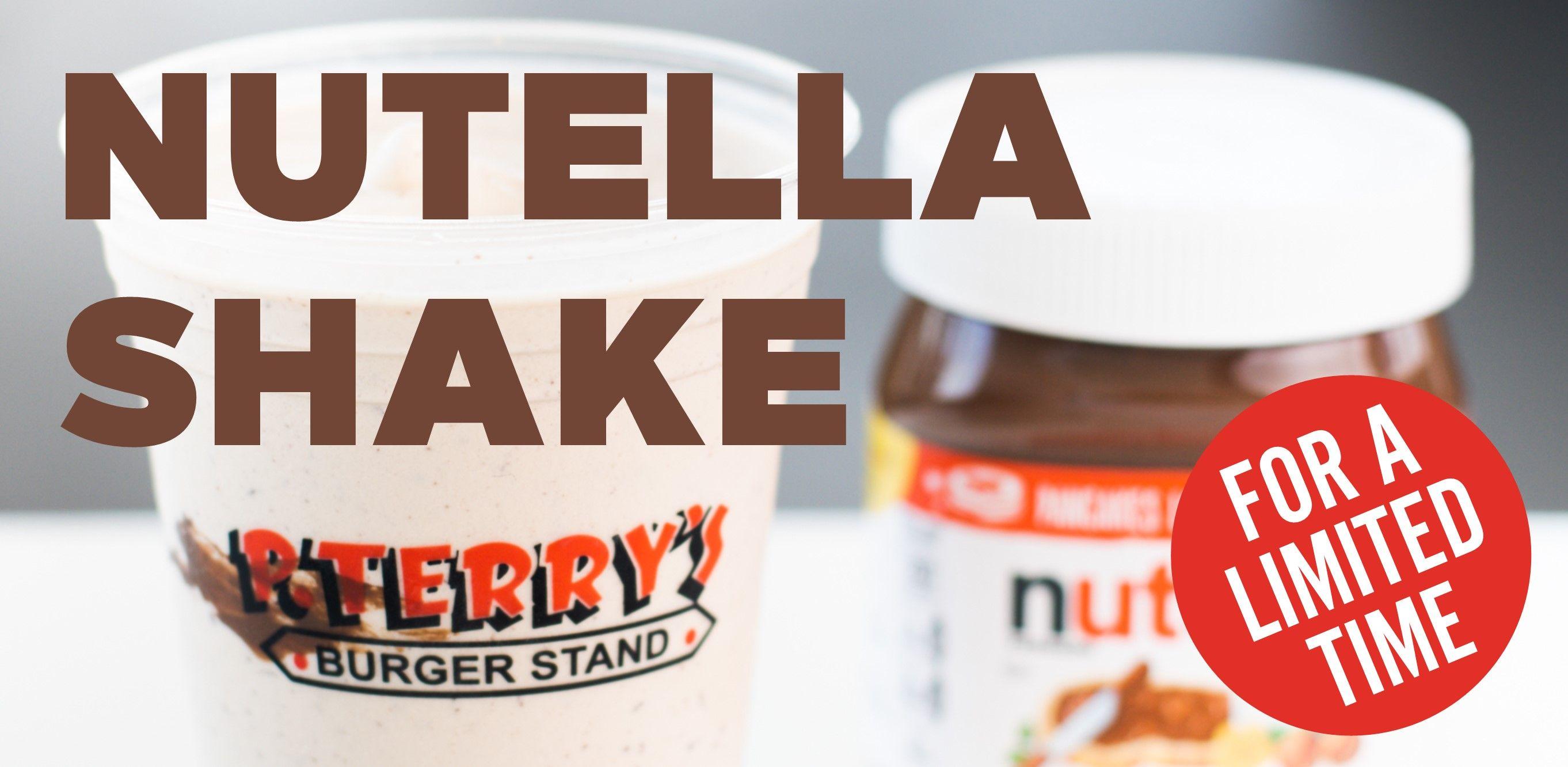 Nutella Shake!