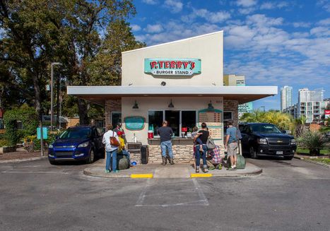 Locations - Fast Food Austin - P  Terry's Burger Stand