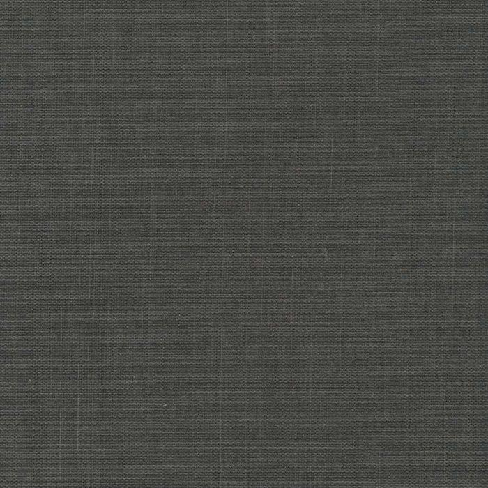 Dark Grey Grasscloth Textured Wallpaper