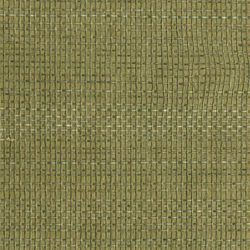 Green Grasscloth Textured Wallpaper