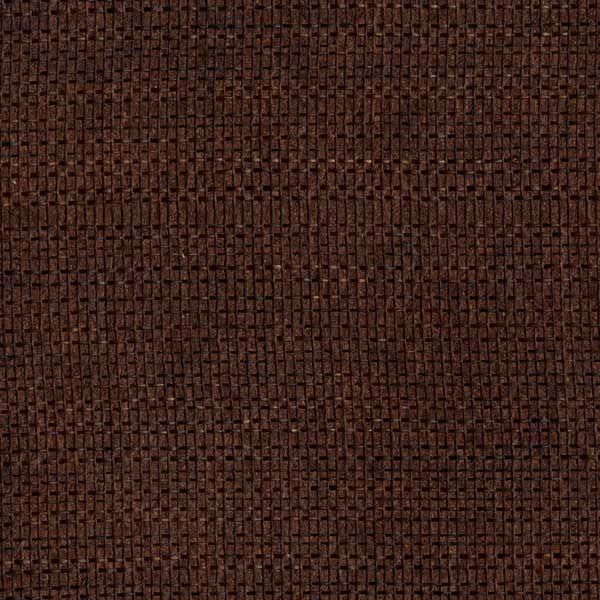 Dark red textured grasscloth wallpaper