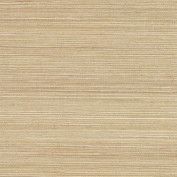Beige Grasscloth Textured Wallpaper