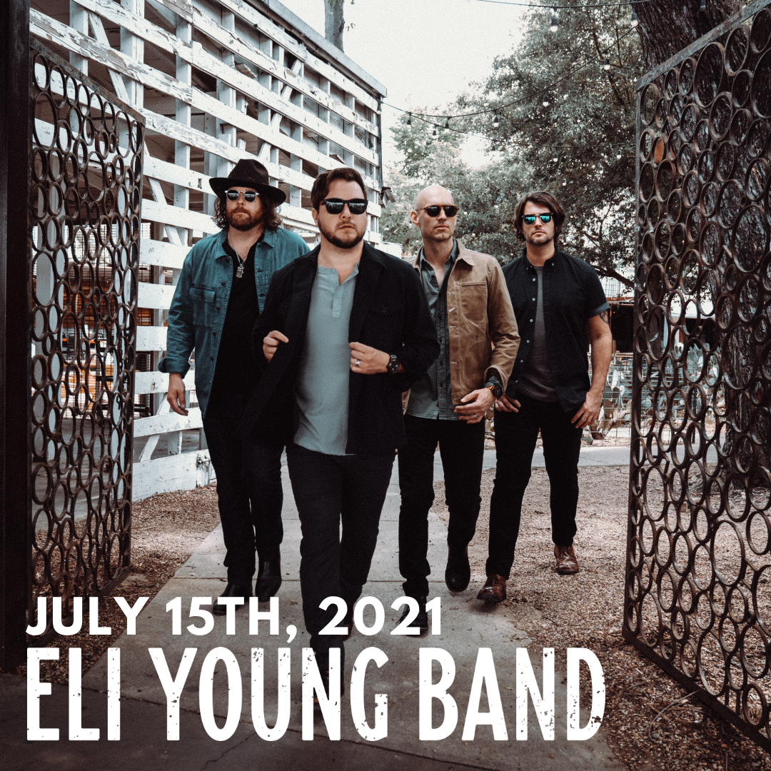 Eli Young Band Chesterfield Amphitheater St. Louis