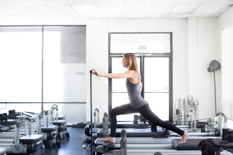 Lagree Fitness Pilates Class in Los Angeles