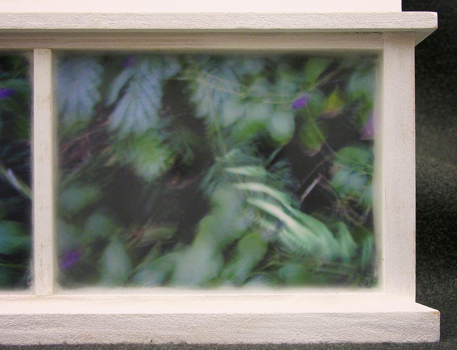 Biota Cabinet 64, Predella detail: Zebras in flight