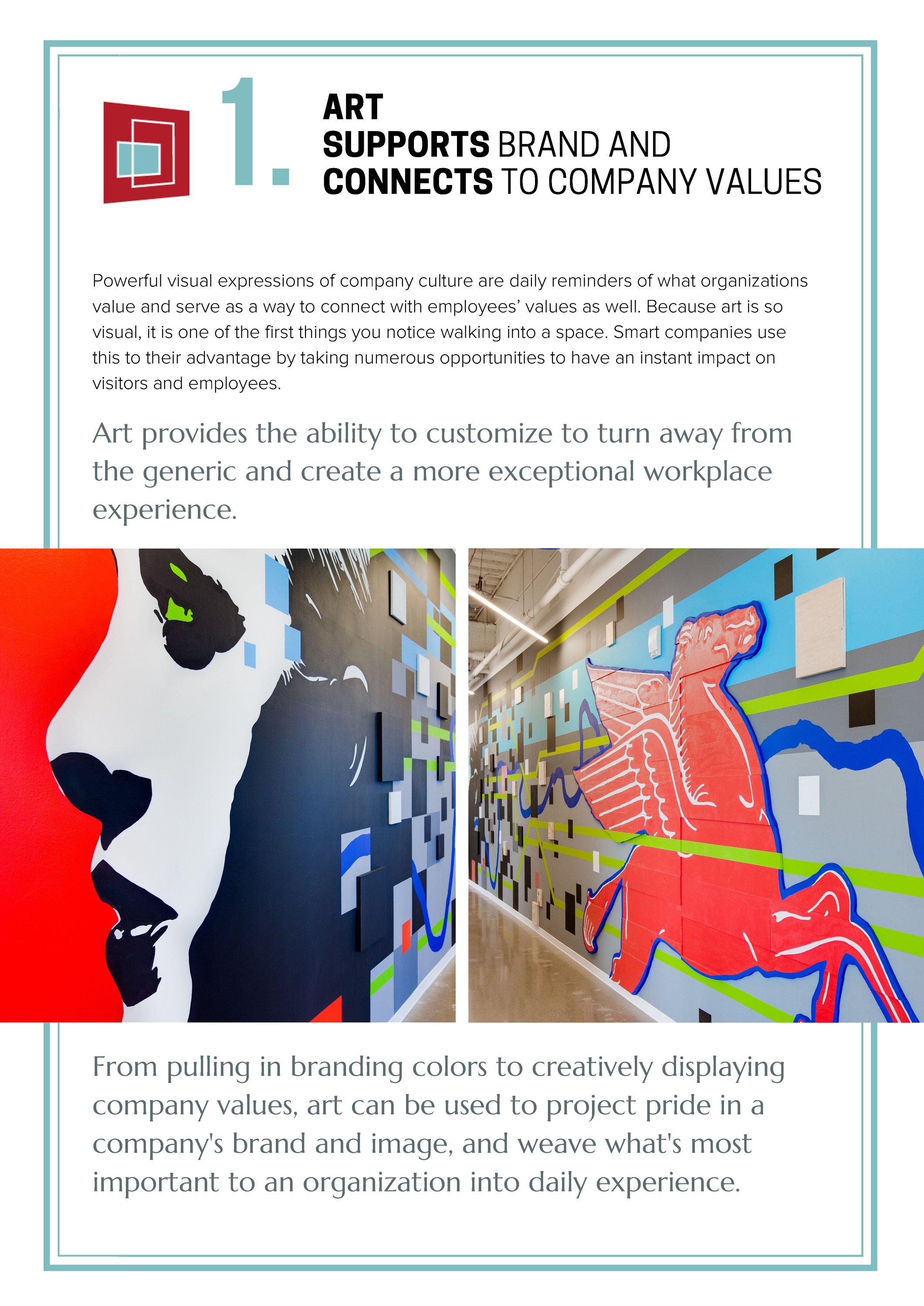 White Paper: 5 Benefits of Art in the Workplace