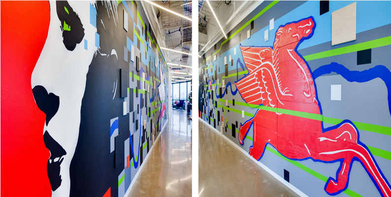 Facebook Office Mural