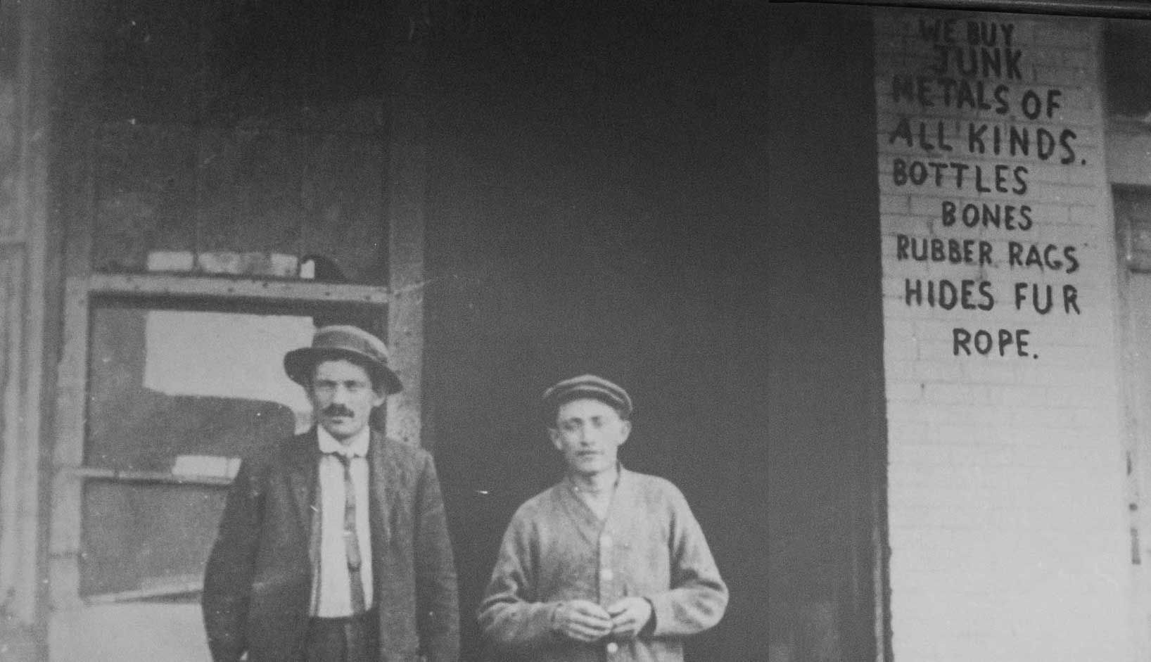 Founders Jim and Sam Novy in 1913