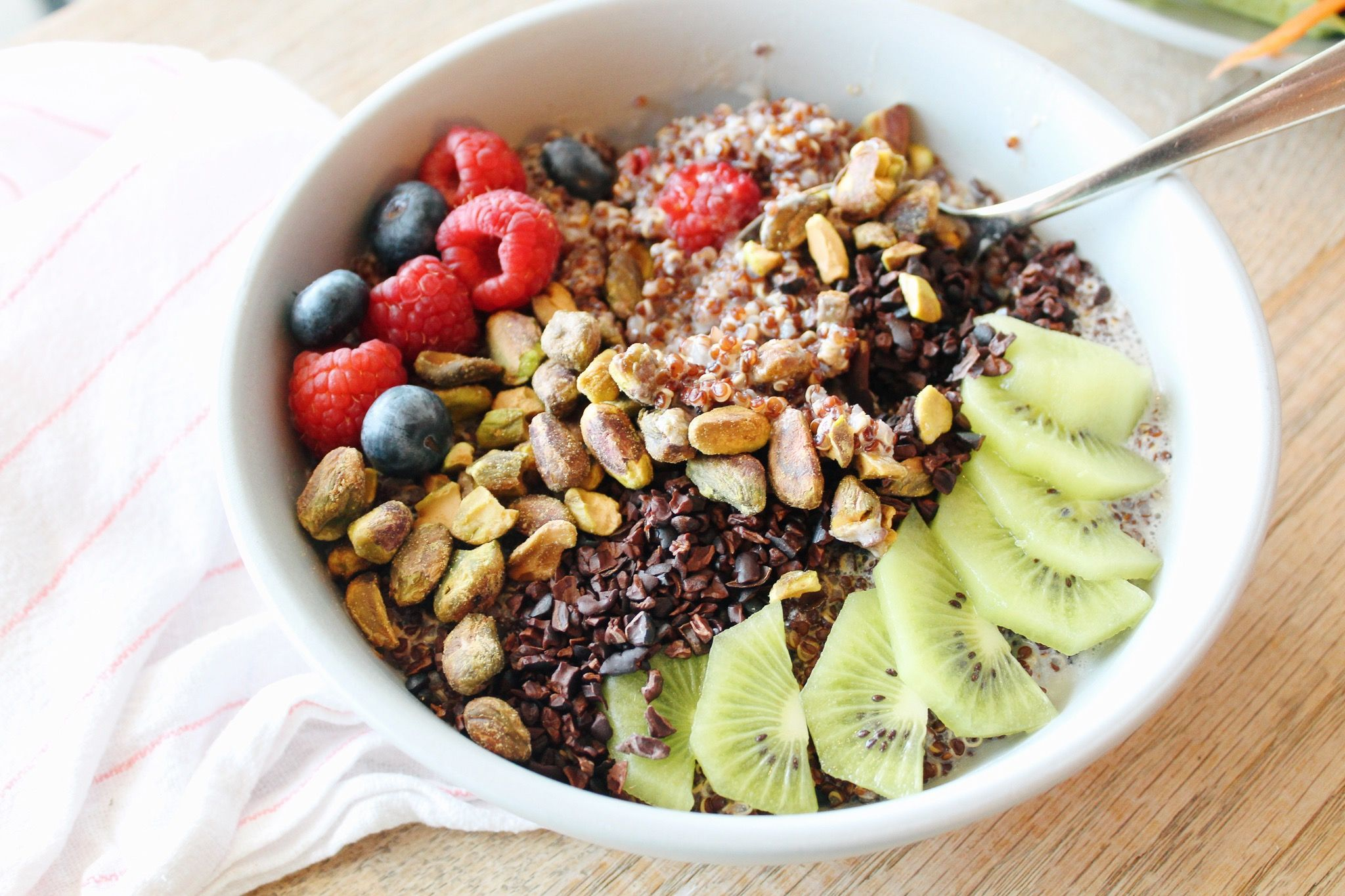 Red Quinoa Porridge