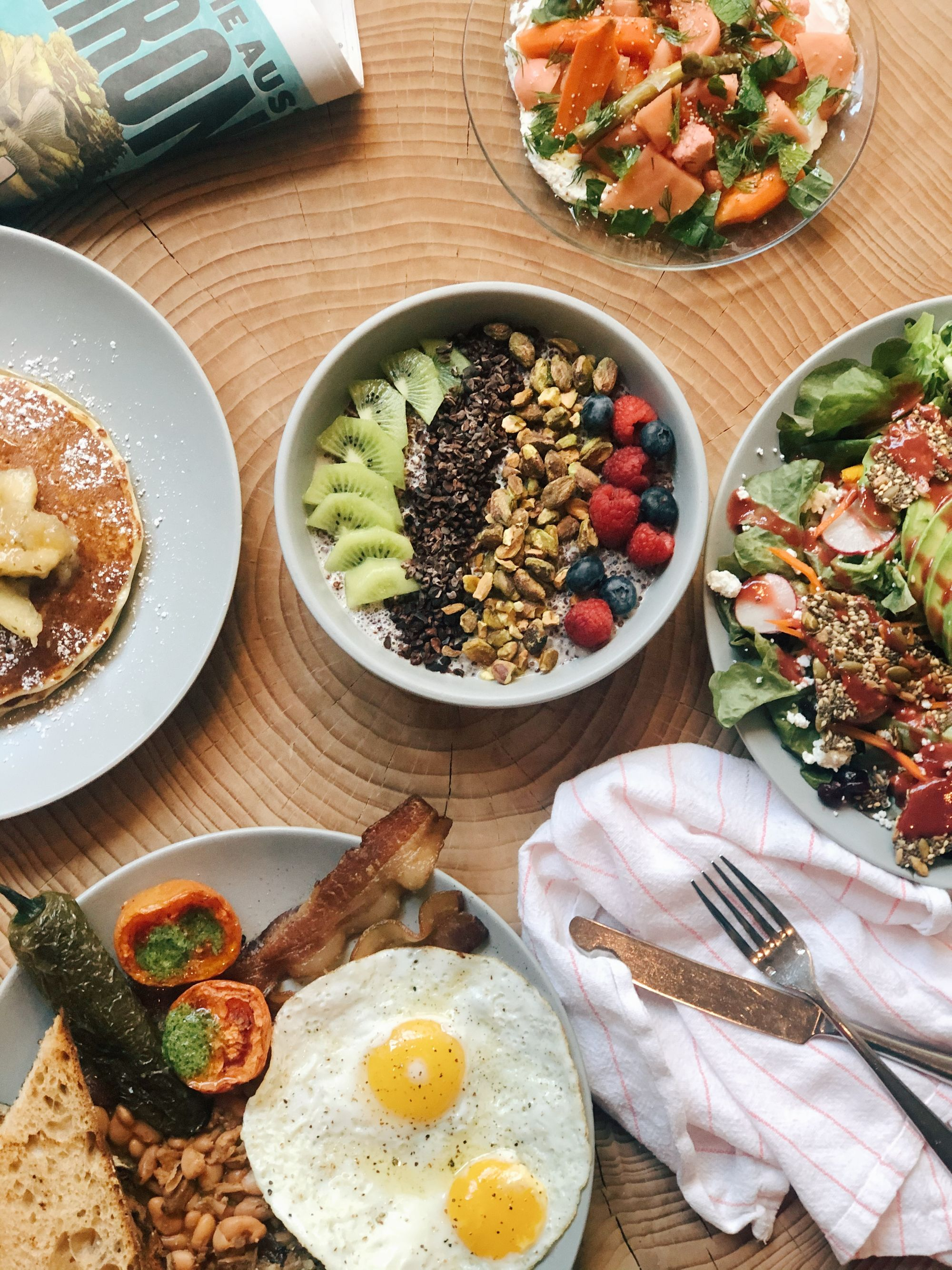 Delicious, Fresh Brunch Dishes