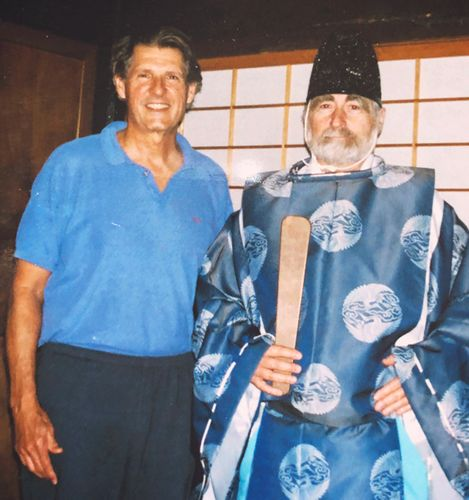 Roberto and George in Japan