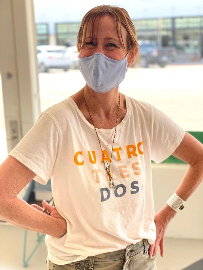 Constance at Garza Marfa