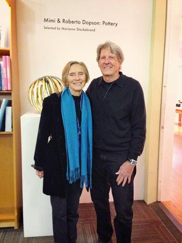 Marfa Book Company Show, Mimi y Roberto