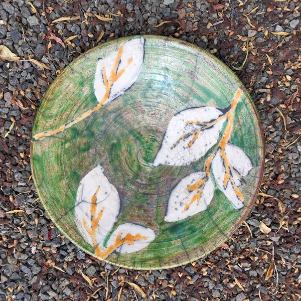 Calla Lilly Serving Bowl