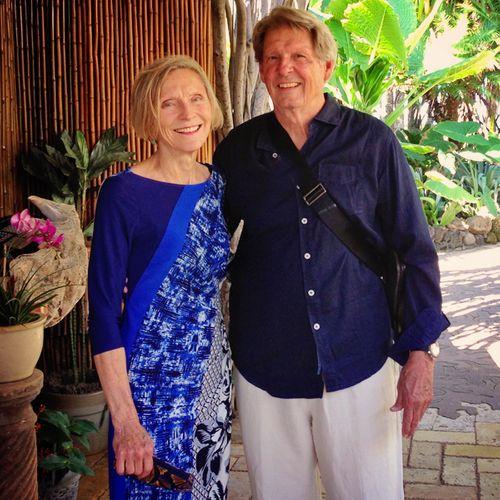 Mimi y Roberto in Hawaii