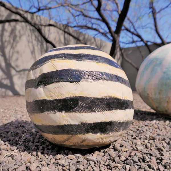 Mimisphere Black and White Stripes