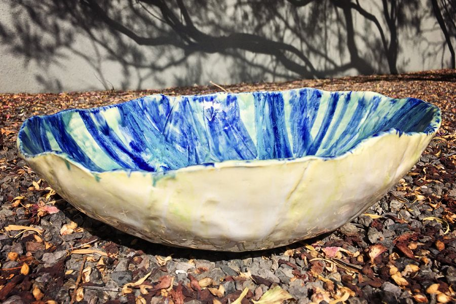 Blue and Green Bowl