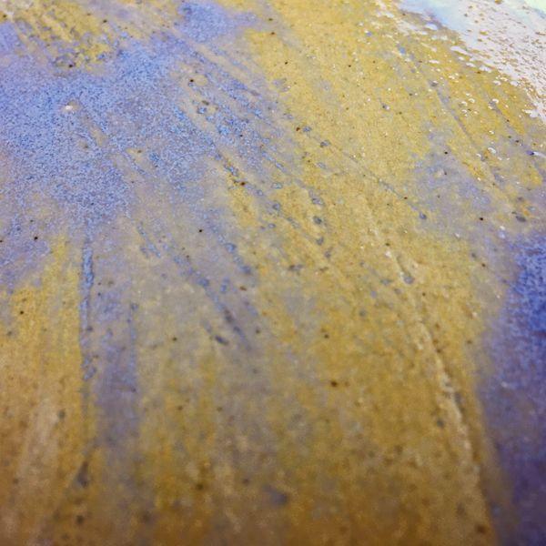Round Platter verso detail
