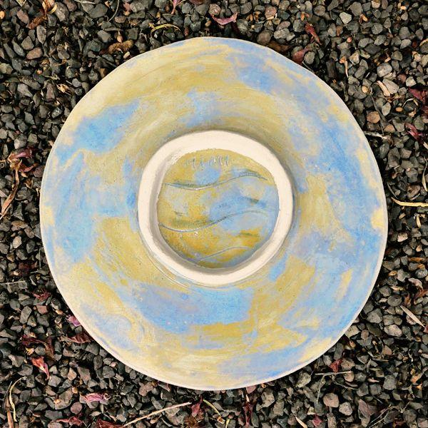 Round Platter verso