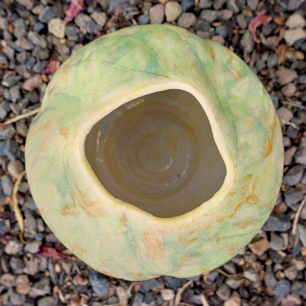 Green and Orange Vase