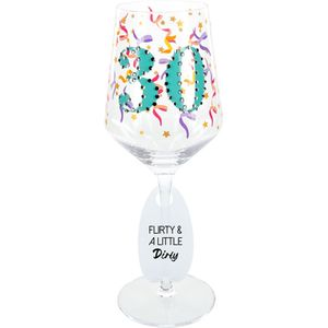 Birthday wine glasses $26