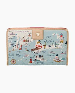 Spartina Long island snap wallet $42